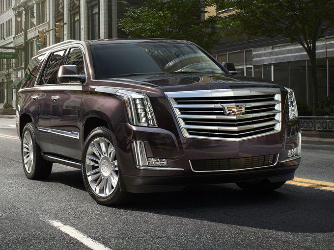 De nieuwe CadillacEscalades is liquidatie-proof