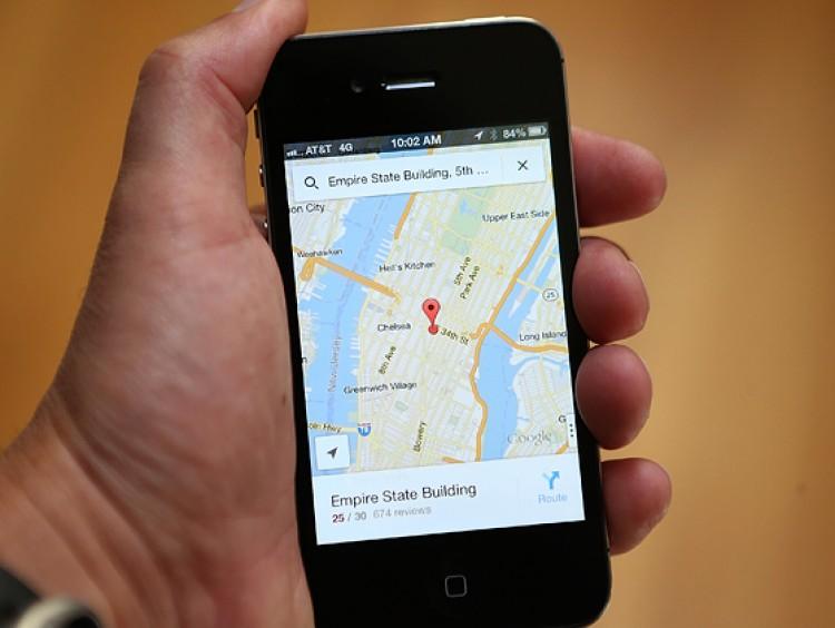 Google maps offline modus