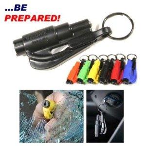 Resqme's Seatbelt Cutter/Window Breaker tool