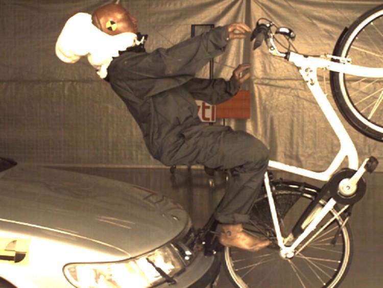 Airbag voor fietsers