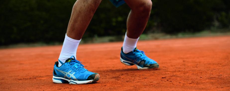 Tennisschoenen voor gravel, kunstgras en hardcourt