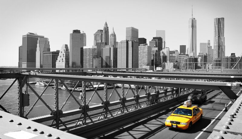 Met de taxi op pad